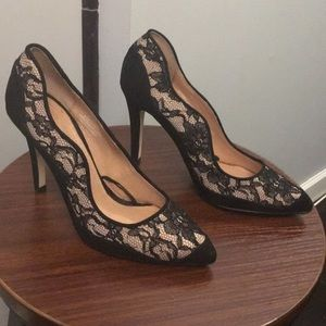 H&M Black & Beige Pumps